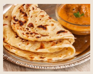 Malaysian Roti with Vegetarian Curry