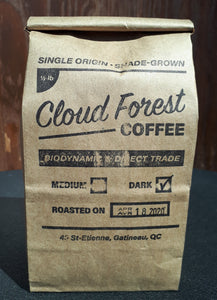 Dark Roast Coffee - 1/2LB