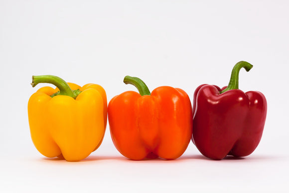 Orange, Yellow & Red Peppers - Organic