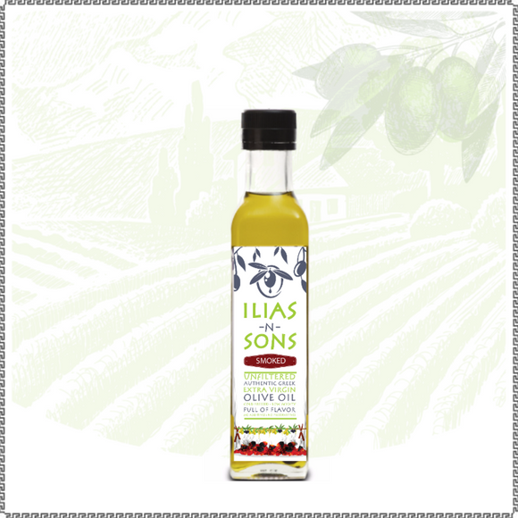 Extra Virgin Olive Oil - Organic - Gourmet Alder Smoked