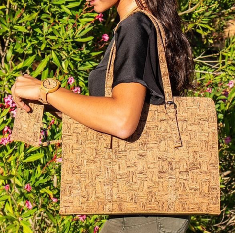 Cork Leather handbag