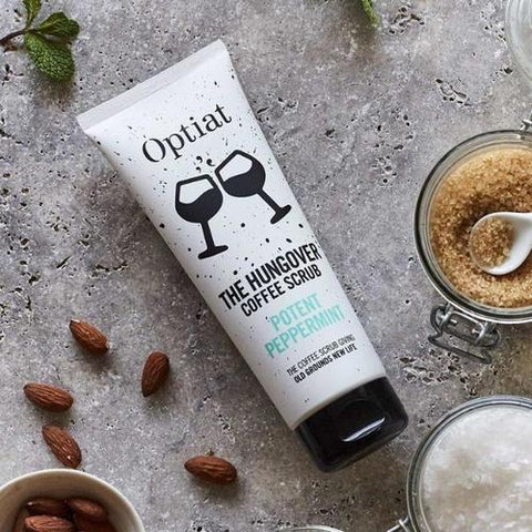 vegan face scrub by optiat
