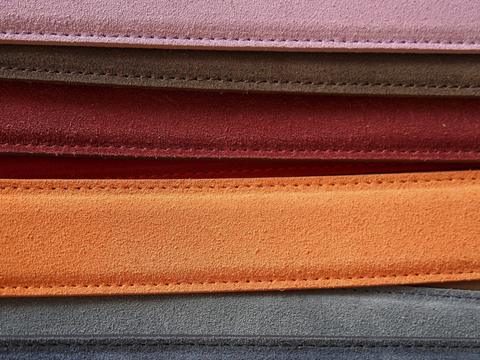 Different Vegan leather materials