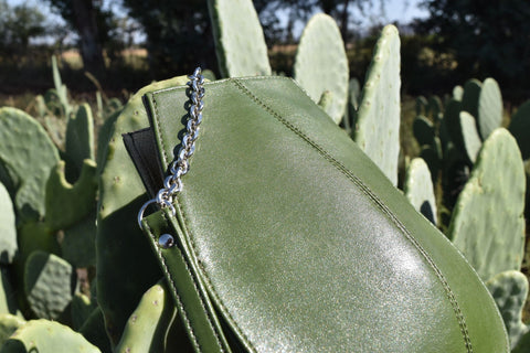 Vegan Leather Handbag made out of cactus