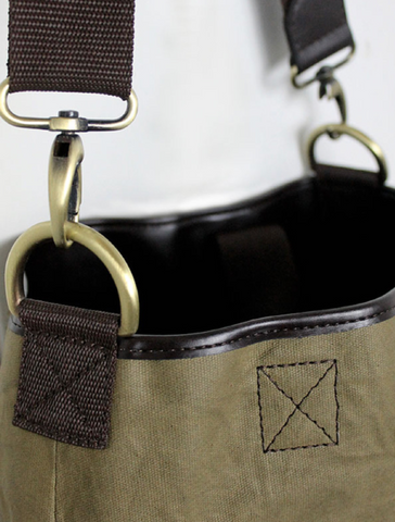 Waxed Canvas handbag