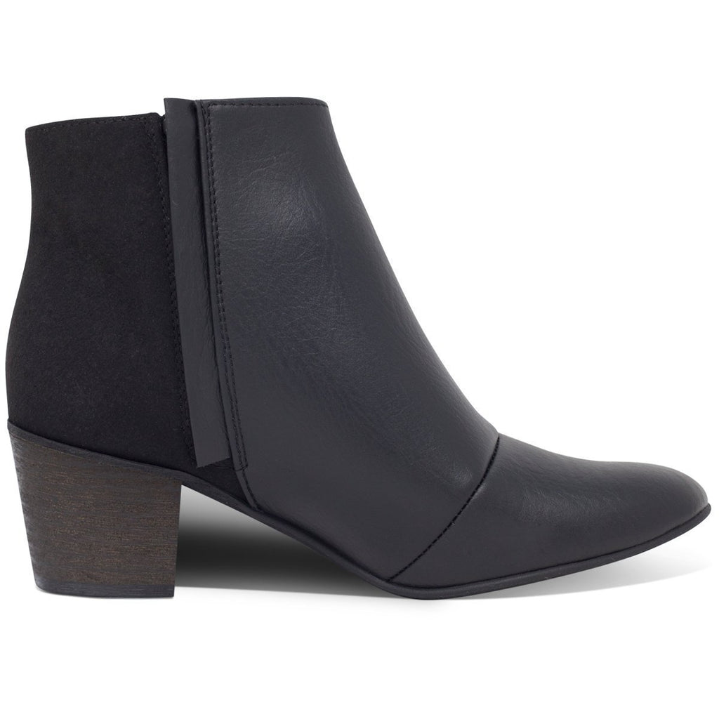 Ankle Vegan Boots in Black Nina by Good Guys at ALIVE Boutique