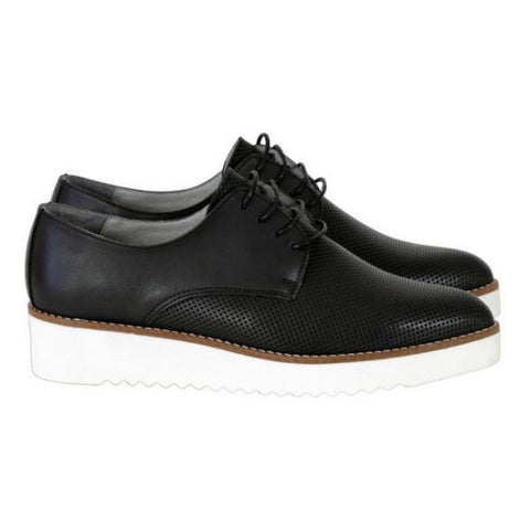 Bee Vegan Leather Shoes Black