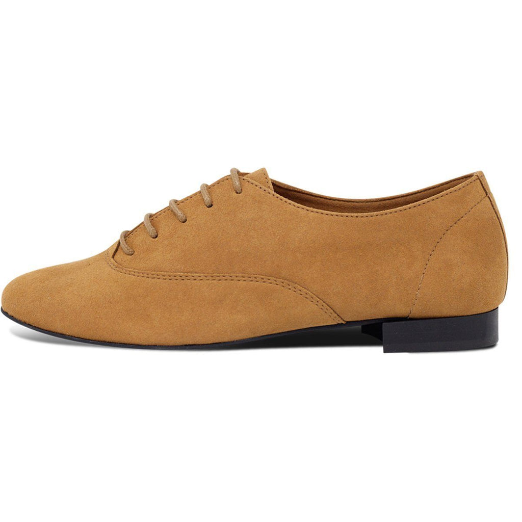 Bee Vegan Lace-up Flats in Mustard for men and women by Good Guys at ALIVE