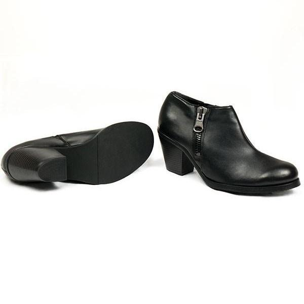 Black Luxed Heeled vegan Shoes by Will's Vegan Shoes ALIVE Boutique