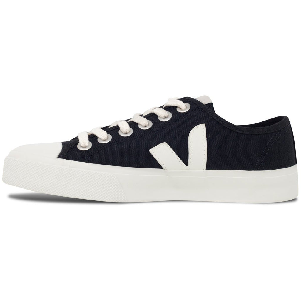 Black Vegan Trainers from the left for women Wata Pierre by Veja at ALIVE