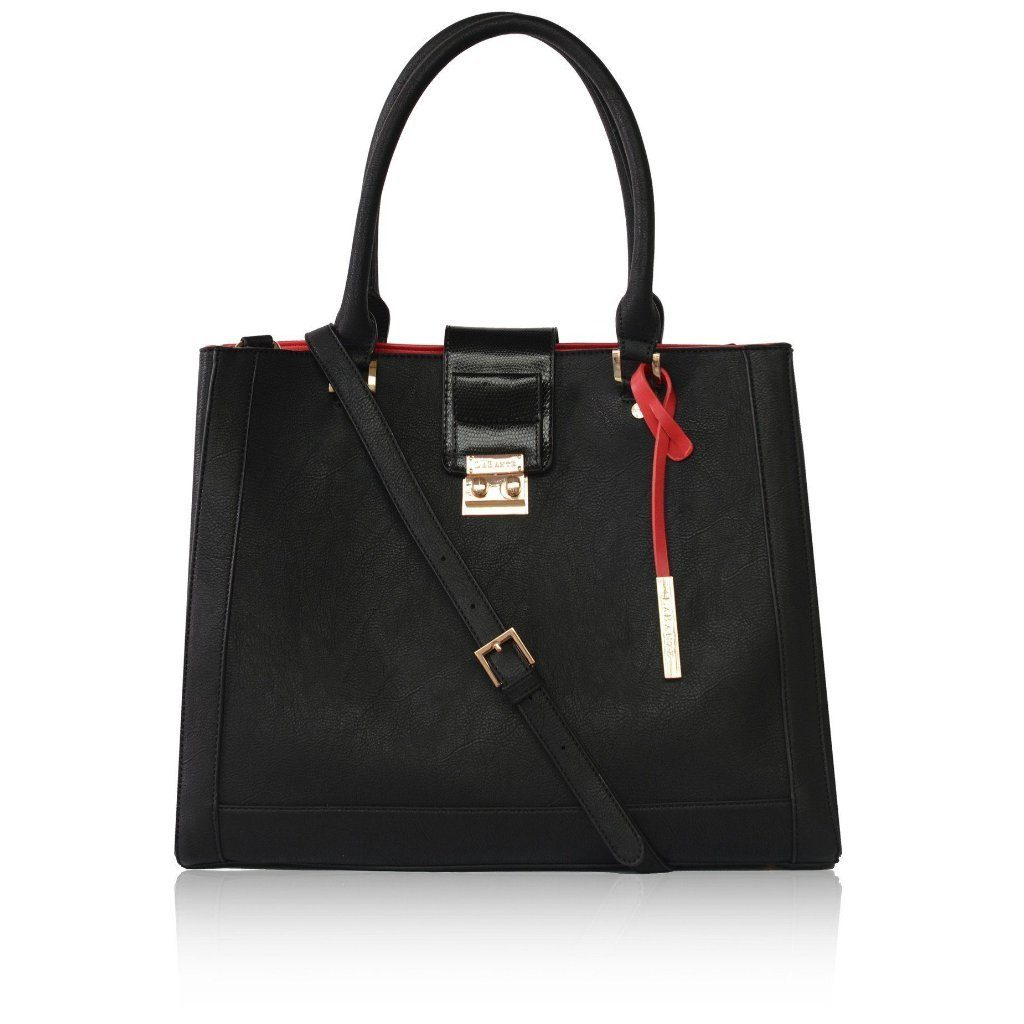 Black Vegan Handbag Jocelyn by Labante at ALIVE Boutique