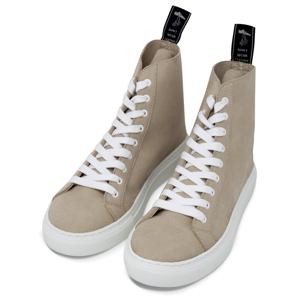 Pair of Vegan Shoes for men and women in beige at ALIVE Boutique