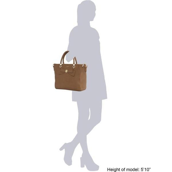 Sizing information Vegan Leather Tote Bag Brown