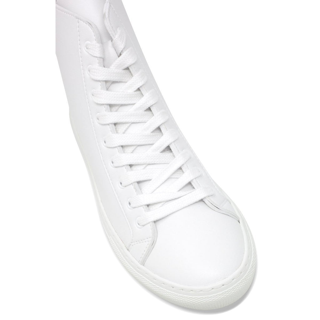 Topcap of White Vegan Shoes for men and women by Good Guys