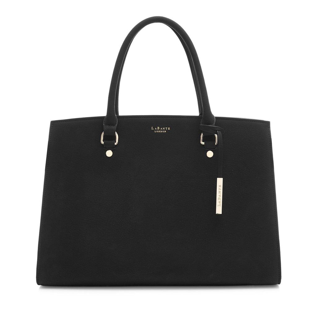 Vegan Carryall Handbag Aricia in Black by Labante at ALIVE