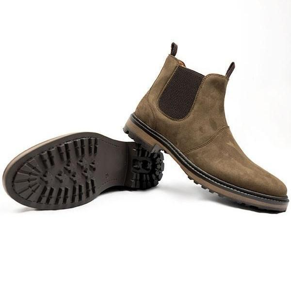 ALIVE Boutique - A Little Vegan Boutique Vegan Chelsea Boots sole by Wills London