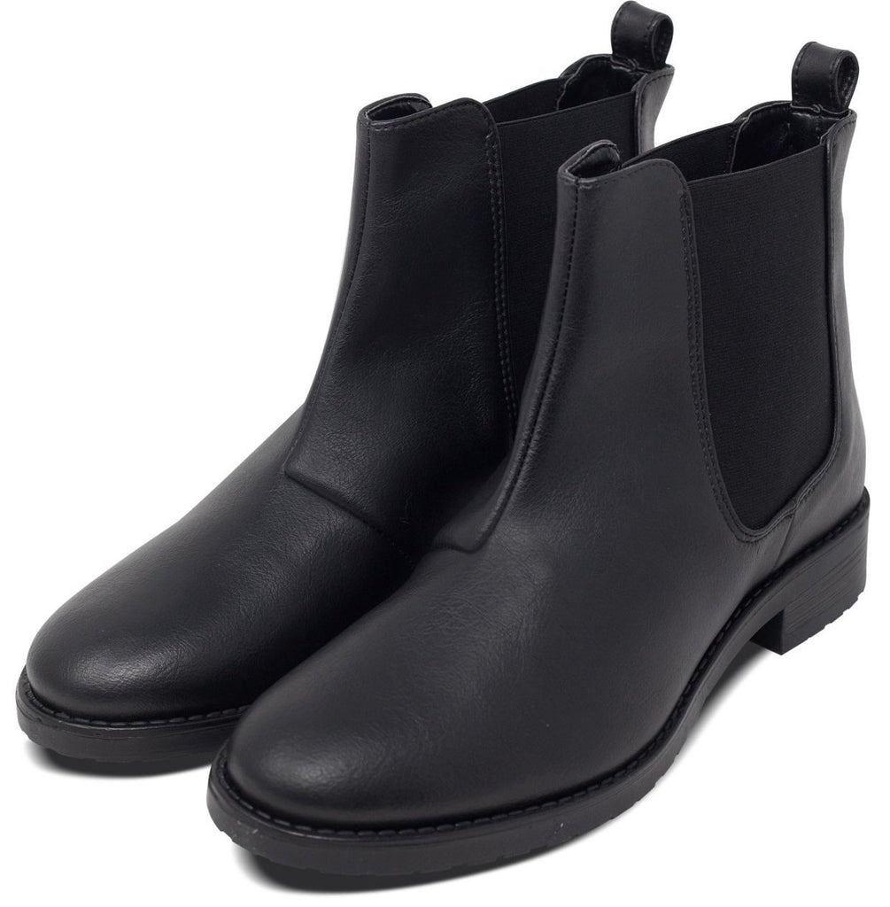Vegan Chelsea Boots for Women Black by Will's Vegan Shoes ALIVE Boutique