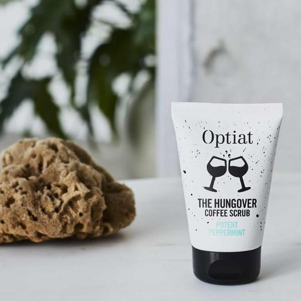 Vegan Coffee scrub 90g lifestyle image by Optiat ALIVE Boutique