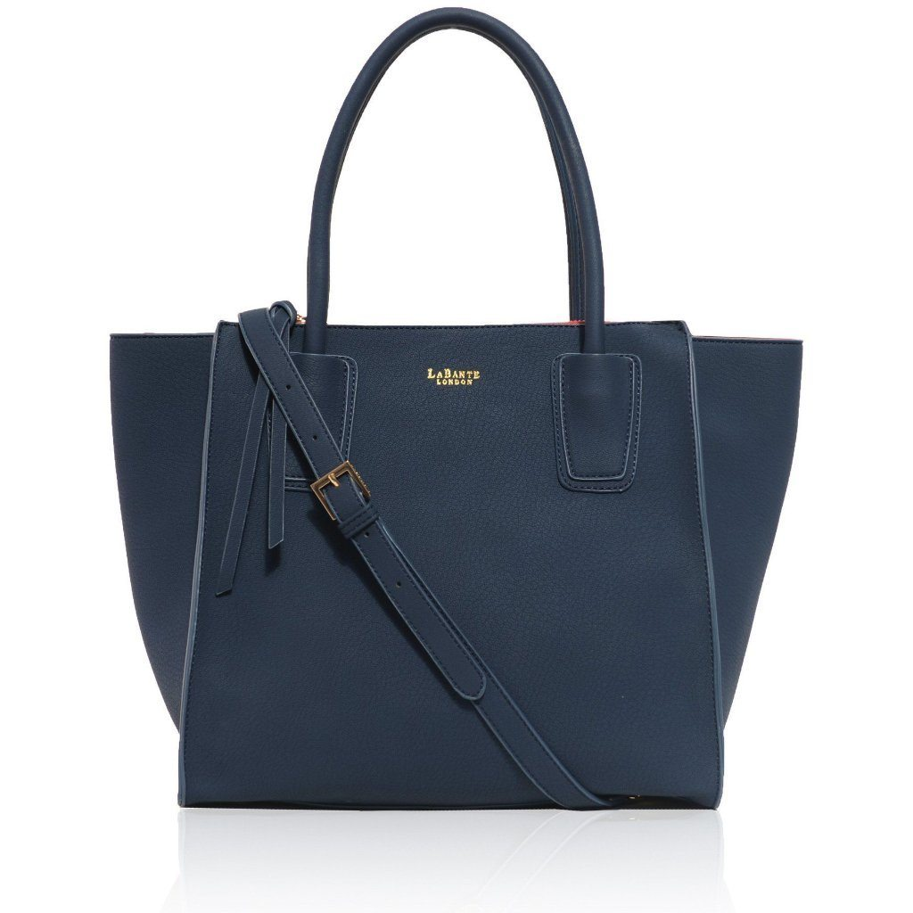 Vegan Demi Blue Shoulder Bag by Labante at ALIVE Boutique