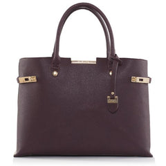 Bordeaux Windsor Vegan Handbag by Labante picture from the front at ALIVE Boutique