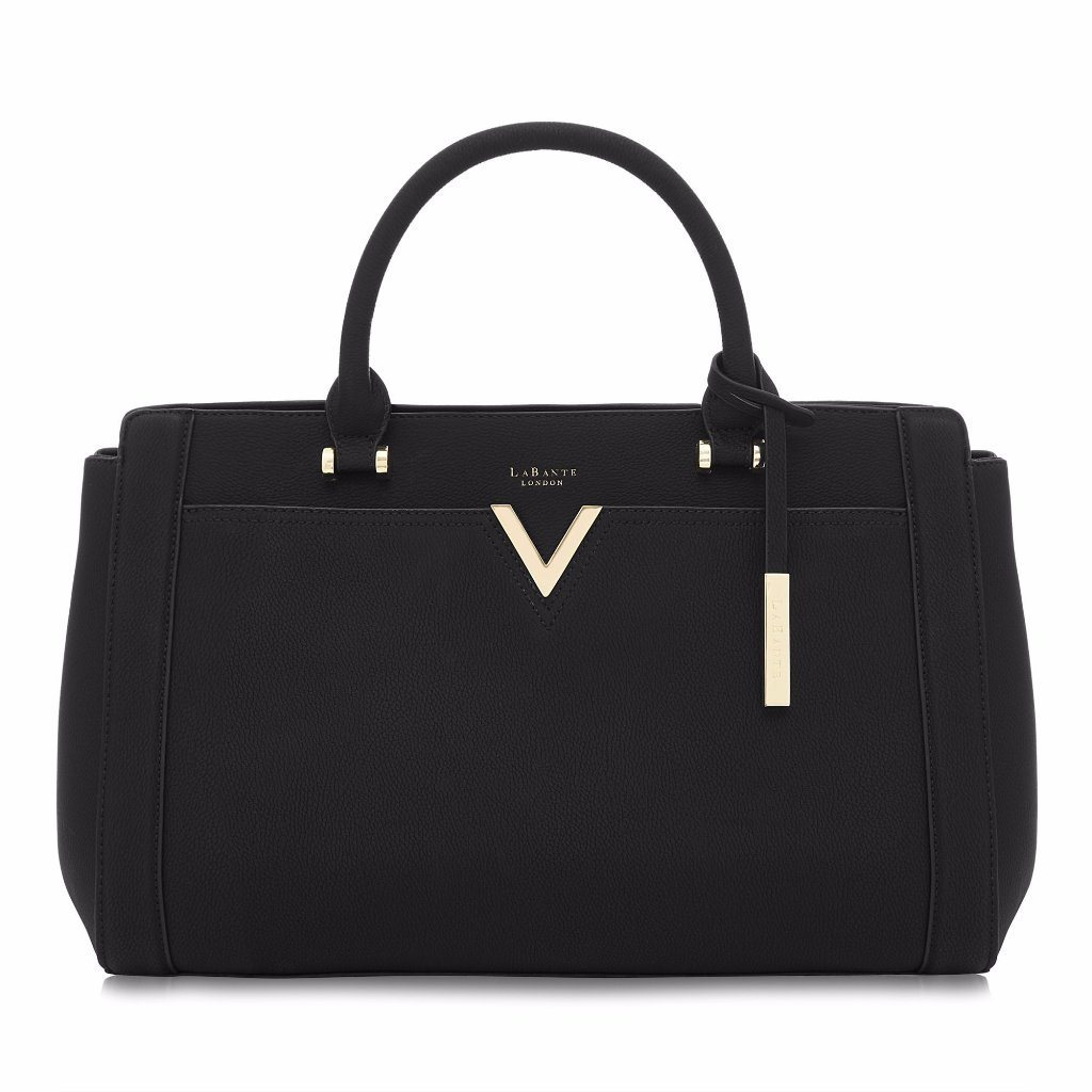 Vegan Handbag Tote Bag Dawson in Black by Labante at ALIVE