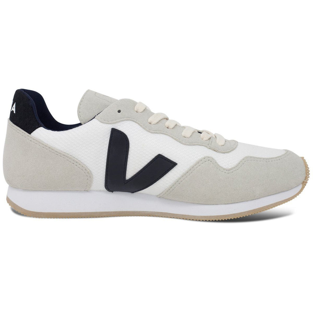 Vegan Men's Shoes in White by Veja from the right at ALIVE
