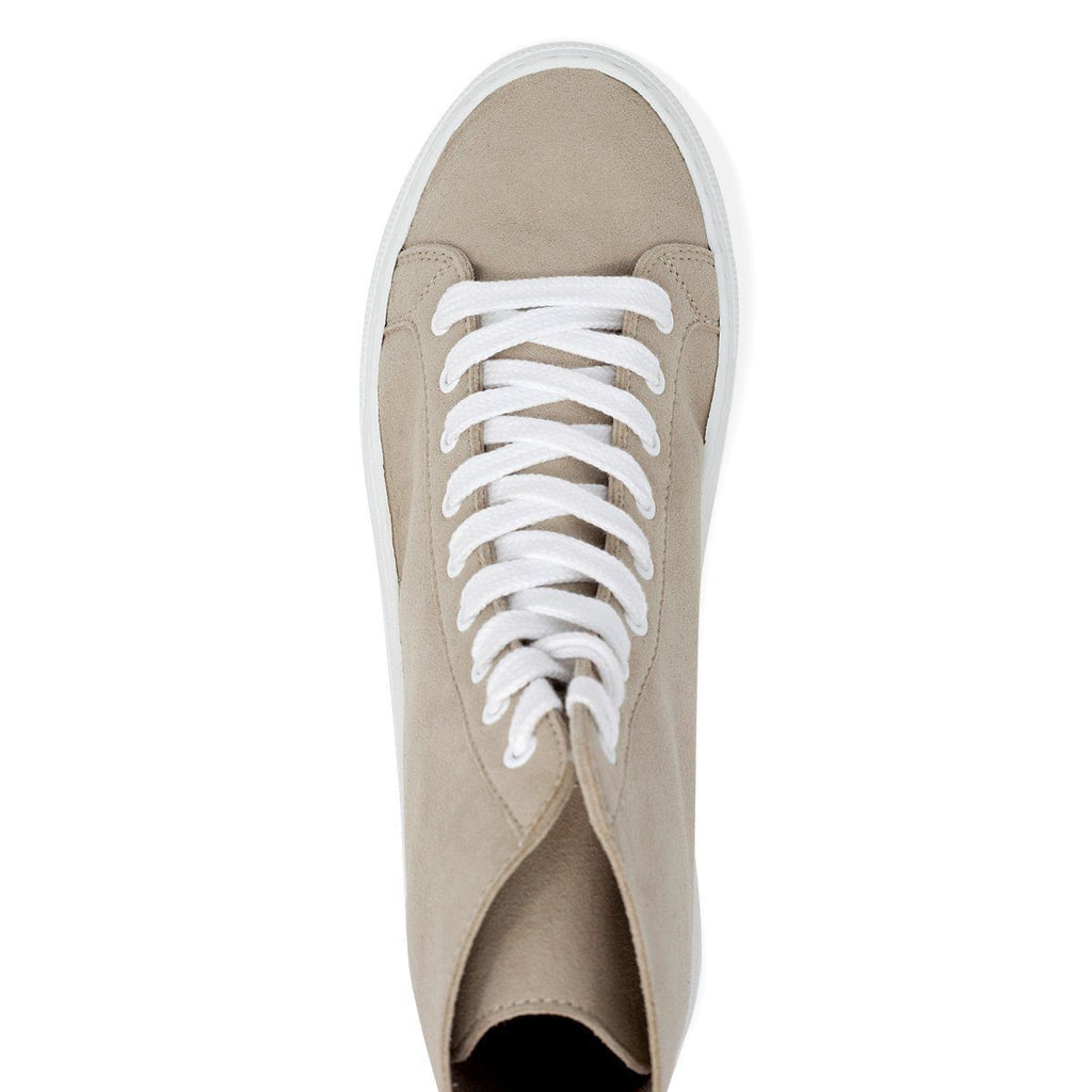 Vegan Shoe from above for men and women in beige at ALIVE Boutique