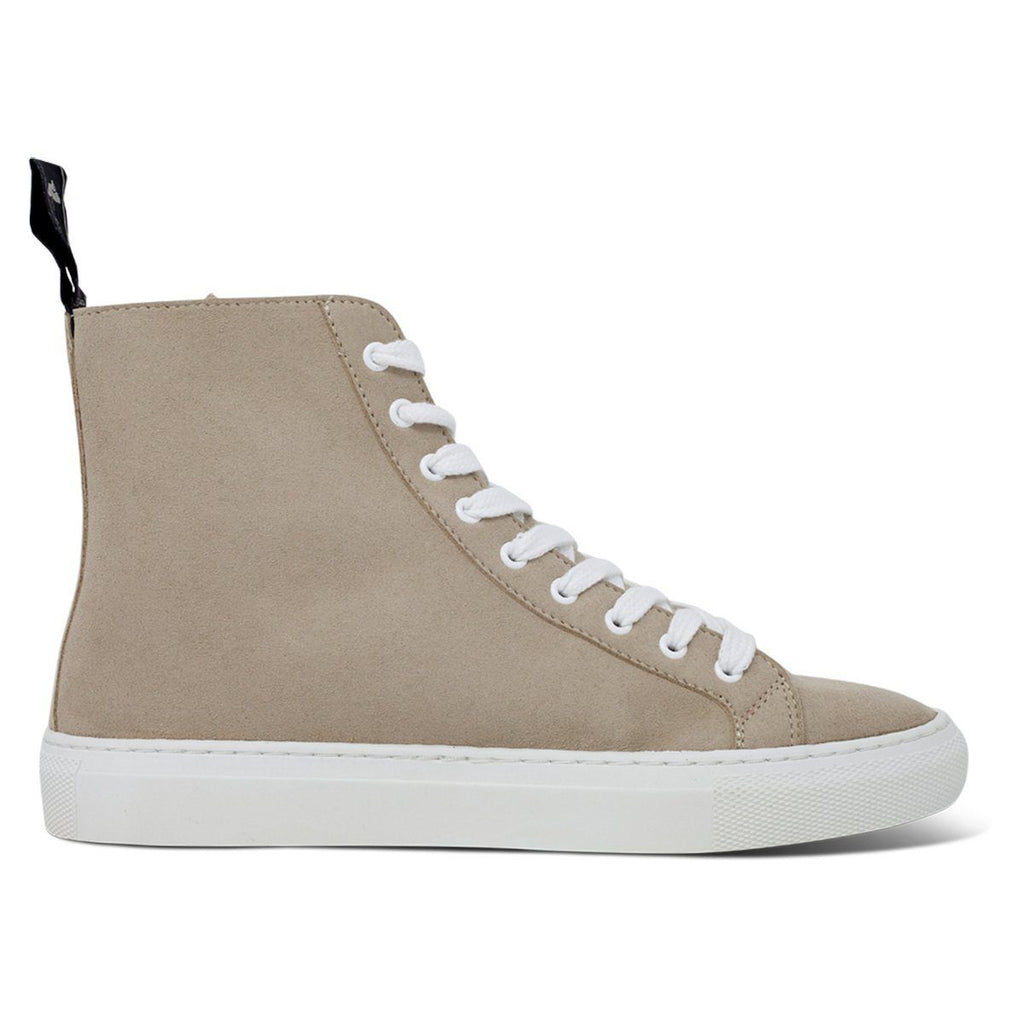 Vegan Shoes for men and women in beige High-Top Sneakers at ALIVE