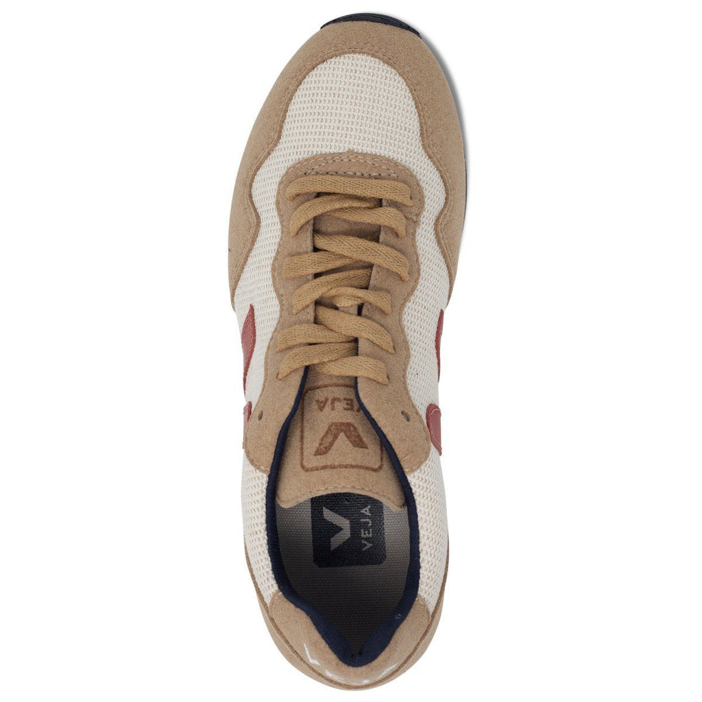 Vegan Shoes in Beige by Veja for women and for men from above at ALIVE