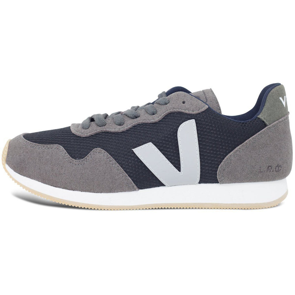 Vegan Shoes in Black Graphite by Veja from the left at ALIVE Boutique