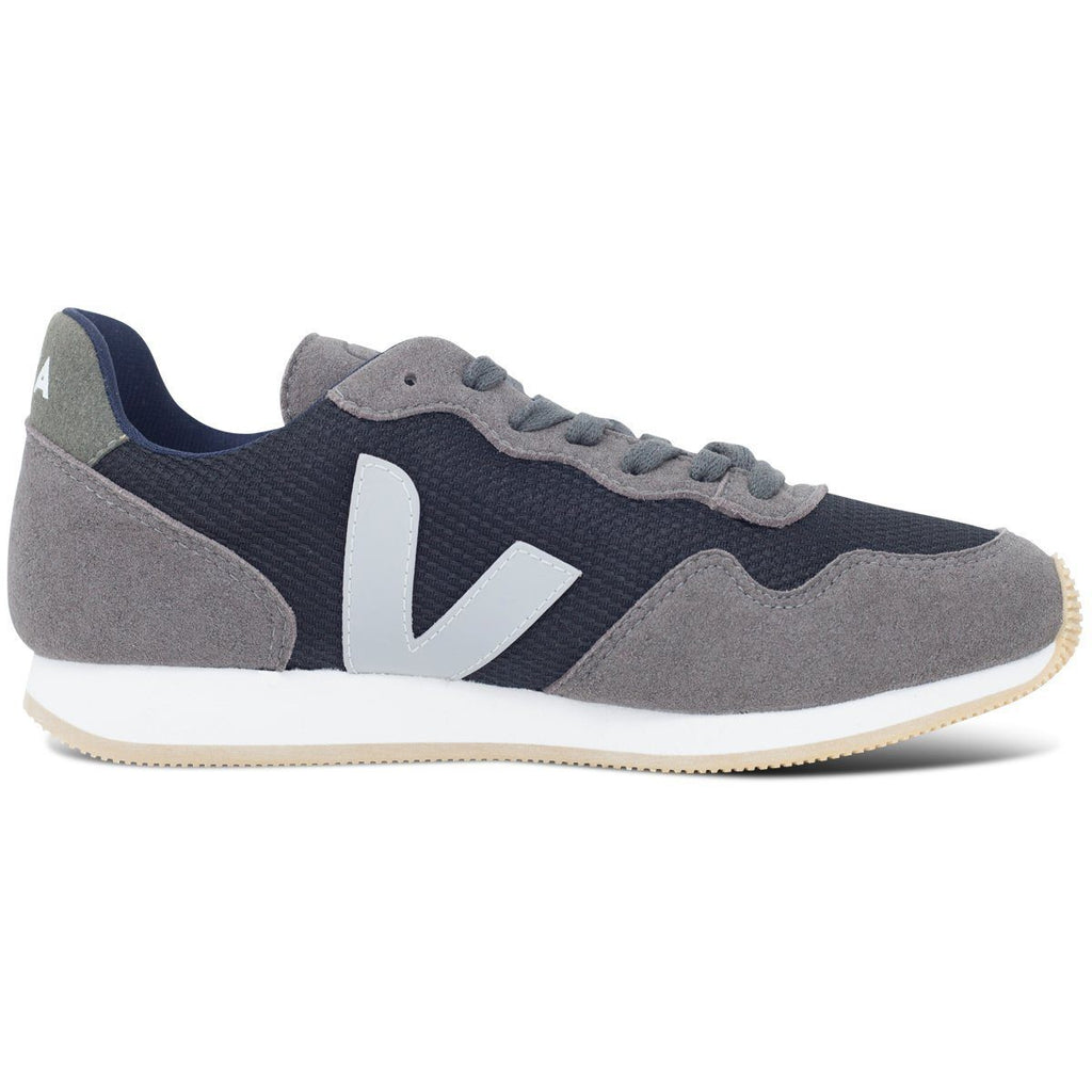 Vegan Shoes in Black Graphite by Veja from the right at ALIVE Boutique
