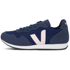 Vegan Sneakers by Veja  in Dark blue Nautico from the left at ALIVE Boutique