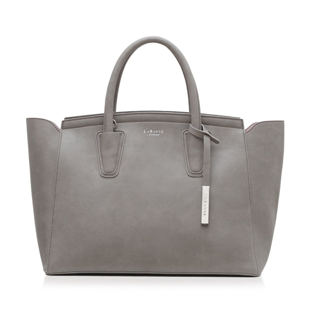Vegan Tote Bag in Grey Grant by Labante at ALIVE