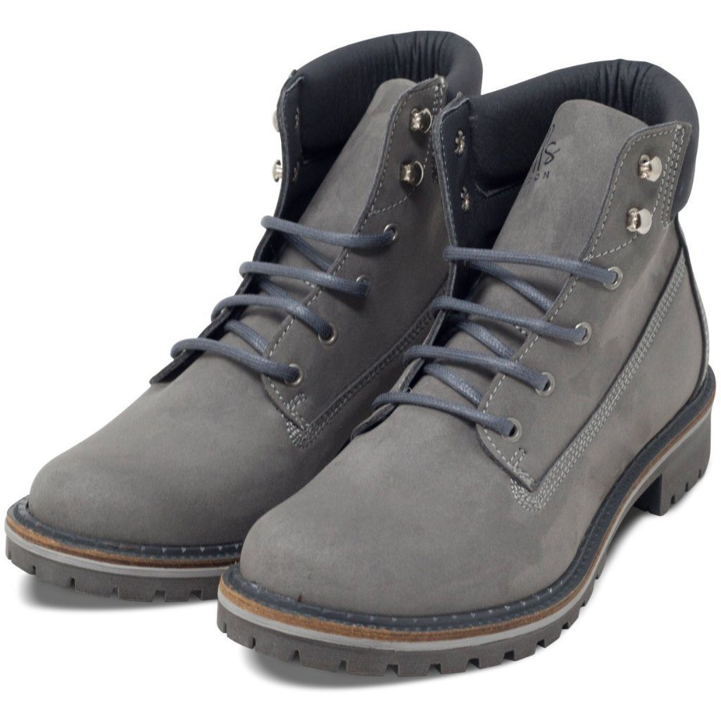 Pair of Vegan dock boots for women Grey at ALIVE Boutique