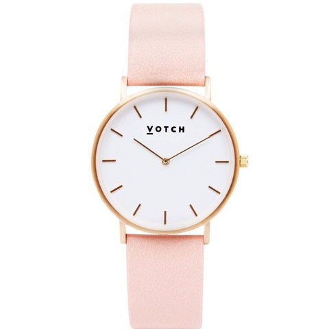 Rose Gold Face with Black Strap | New Collection