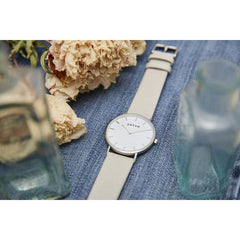 Votch Vegan watch The Light Grey, Silver face at ALIVE Boutique