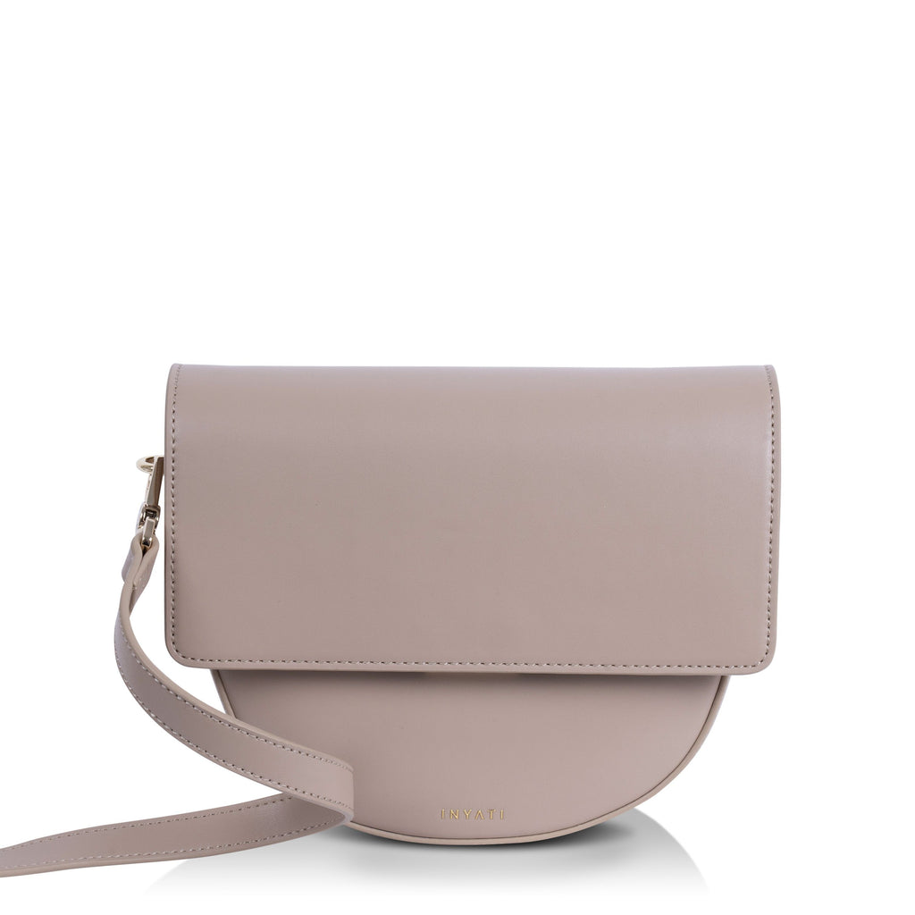 Natural Vegan Across Body Handbag - Brooke