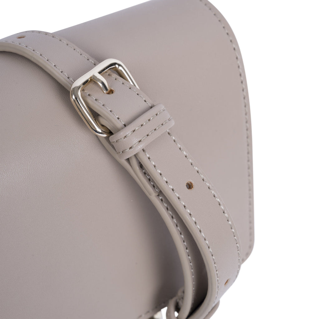 Natural Vegan Across Body Handbag - Brooke detail