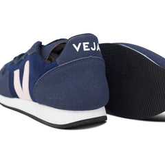 pair Vegan Sneakers by Veja and their sole in Dark blue at ALIVE Boutique