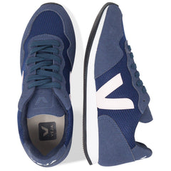 pair Vegan Sneakers from above by Veja  in Dark blue Nautico at ALIVE Boutique