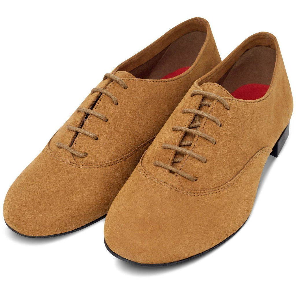 pair of Bee Vegan shoes in Mustard for men and women at ALIVE
