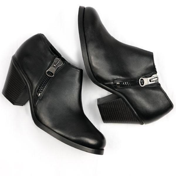 pair of Black Luxed Heeled vegan Shoes picture from above by Will's Vegan Shoes ALIVE Boutique