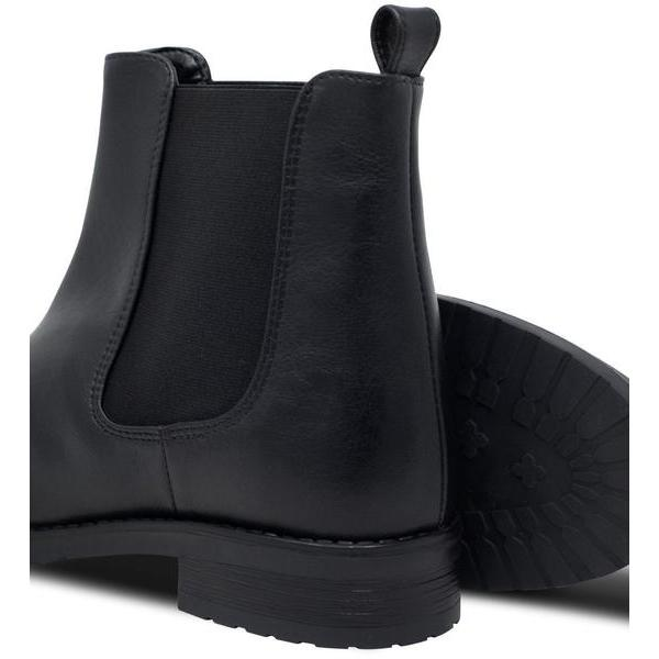 pair of Vegan Chelsea Boots for Women Black by Will's at ALIVE Boutique