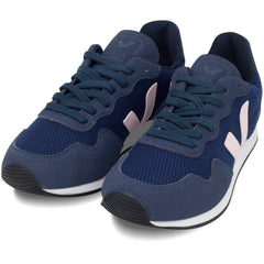 pair of Vegan Sneakers by Veja in Dark blue at ALIVE Boutique