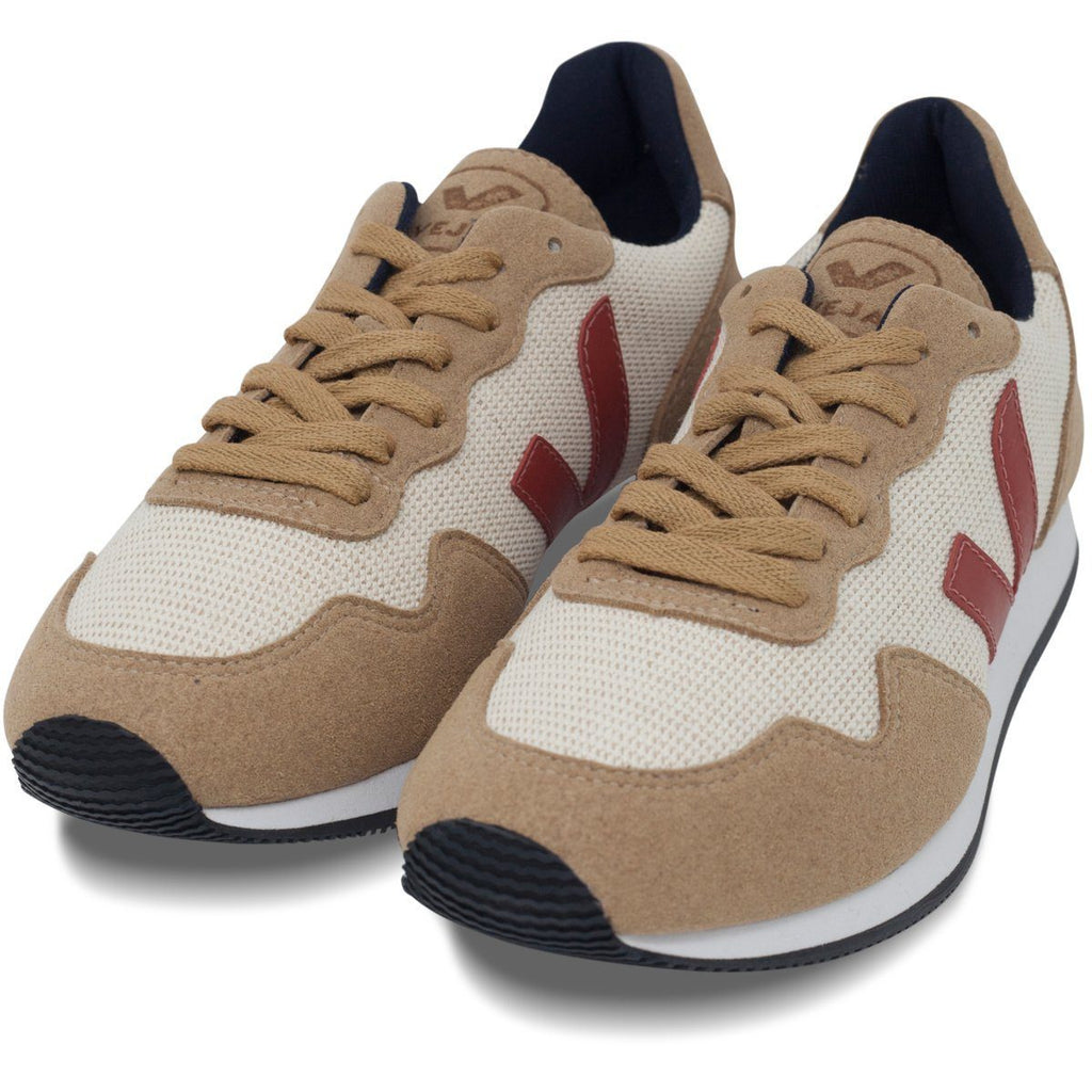 pair of unisex Vegan Shoes in Beige by Veja at ALIVE