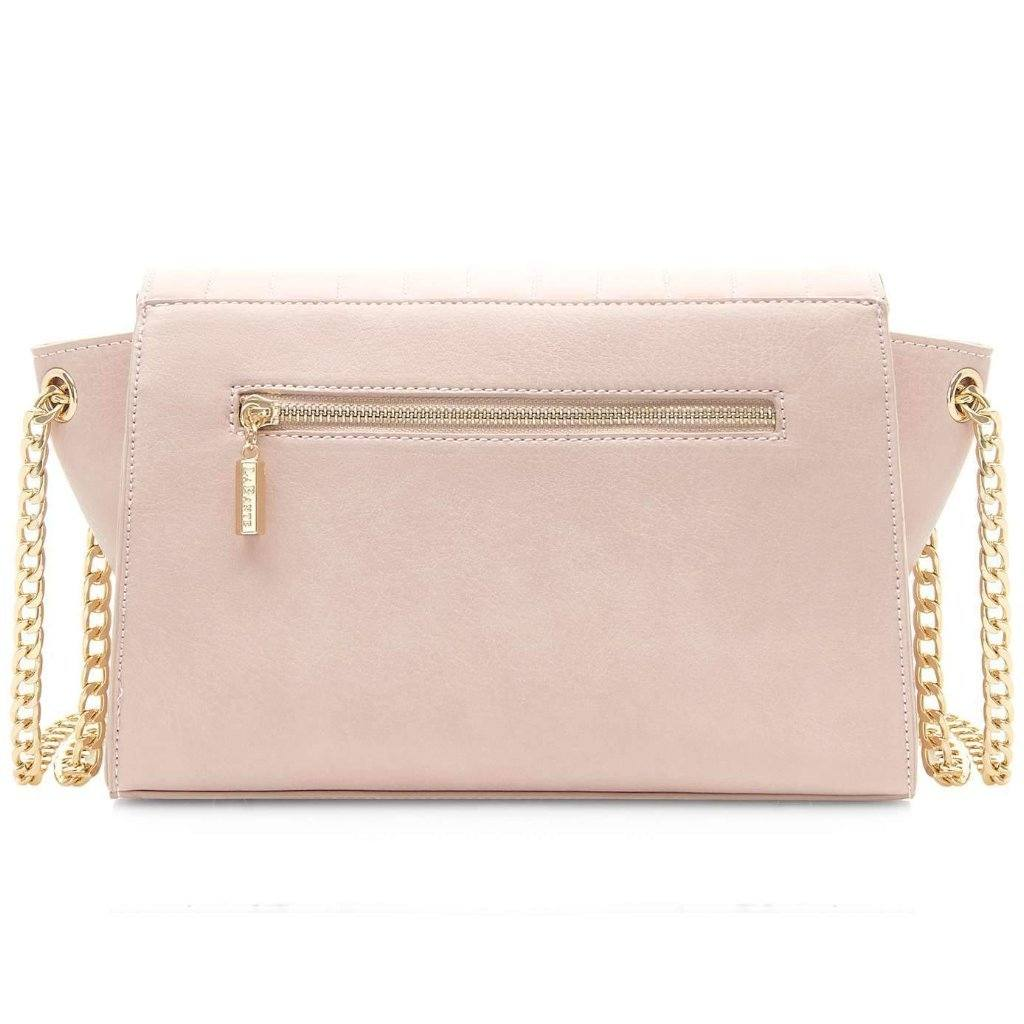 Pink Vegan Cross Body Bag Kensington picture from the back by Labante at ALIVE Boutique