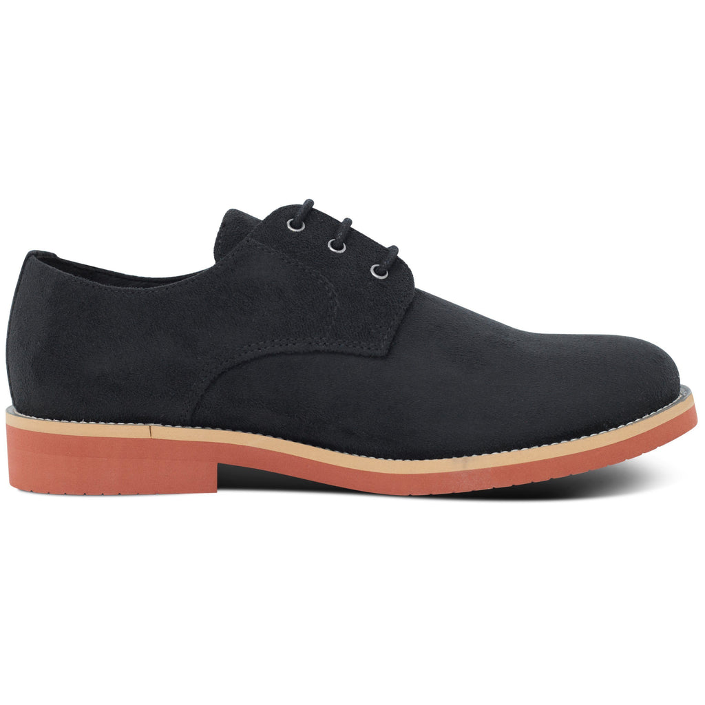 Lace-up Black Vegan Shoes Aponi from the right by Good Guys at ALIVE Boutique