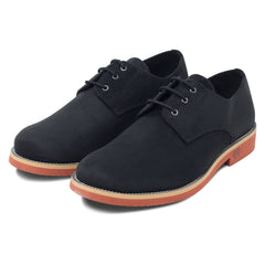 pair of Black Lace-up Vegan Shoes Aponi by Good Guys at ALIVE Boutique