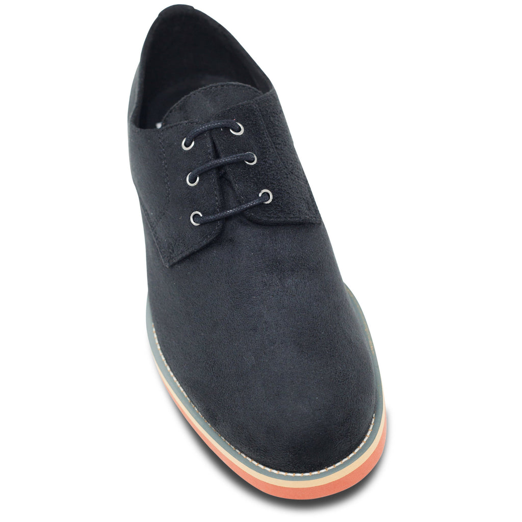 toecap Lace-up Black Vegan Shoes Aponi by Good Guys at ALIVE Boutique