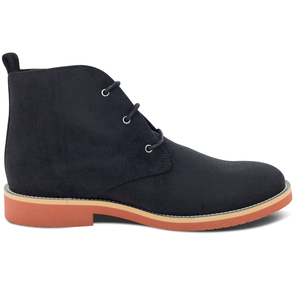 Vegan Desert Boots Ayita Black from the right by GoodGuys at ALIVE Boutique